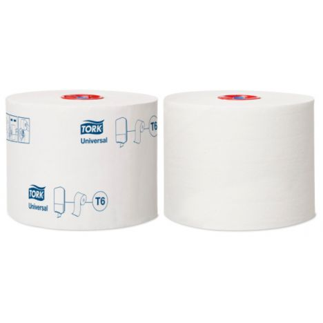 Tork Mid-size Toiletpapier 1-laags Wit T6 Universal